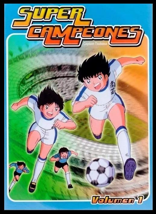 Volumen1 - Captain Tsubasa [S. TV] [1983] [18xDVD9/NTSC] [Audio:Español_Latino] [Subtítulos:No] [Animación]